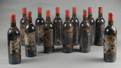 12 bouteilles CH. CITRAN, Haut-Médoc (2 de...