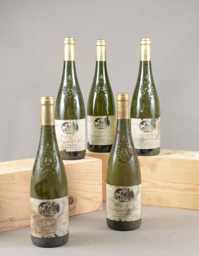 5 bouteilles SAVENNIERES «Cuvée Armand Bizard»,...