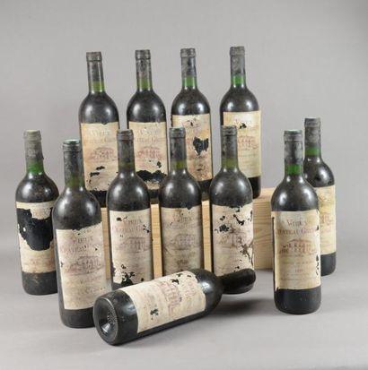 12 bouteilles VIEUX CH. GRENET, Côtes-de-Bourg...