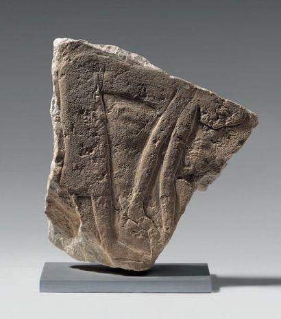 Bas-relief de mastaba représentant une servante...