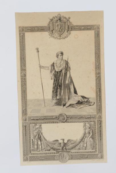 13 Jean-Baptiste ISABEY d'après L' Empereur...