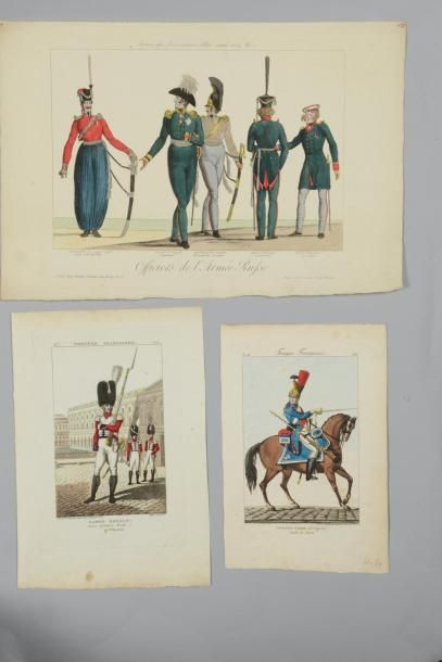 15 HISTOIRE - IMAGERIES - MILITARIA Costumes...