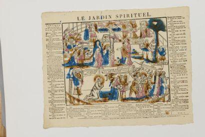 17 IMAGERIES Le Jardin spirituel, édité à...