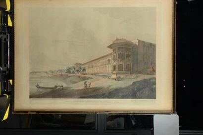 27 Thomas DANIELL (1749 – 1840) The Mausoleum...