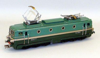 JEP : Motrice électrique CC 7001 avec 2 moteurs...