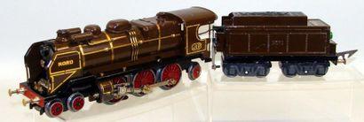 JEP : Locomotive électrique 231 NORD, marron...