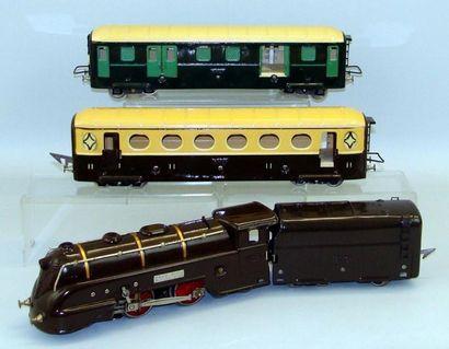 JEP : Rame électrique comprenant locomotive...