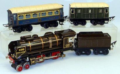 RAME JEP : Locomotive électrique 220 NORD,...
