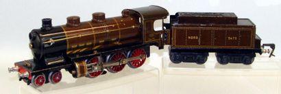 J. de P. : Locomotive électrique lithographiée...
