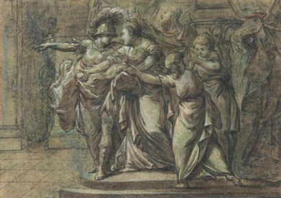 ÉCOLE ITALIENNE DU XVIIIÈME SIÈCLE