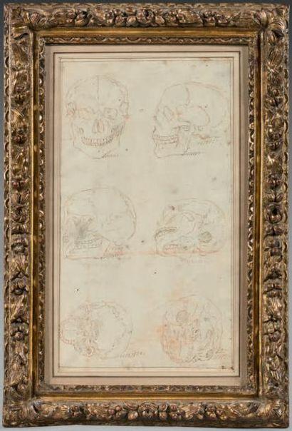 Ecole FRANCAISE du XVIIème siècle, entourage de Charles LEBRUN