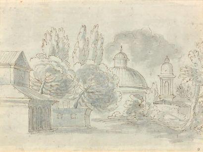 Ecole FRANCAISE du XVIIIème siècle, suiveur de Hubert ROBERT