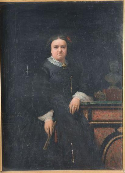 Jules Quantin (Paris 1810-1884) Portrait...