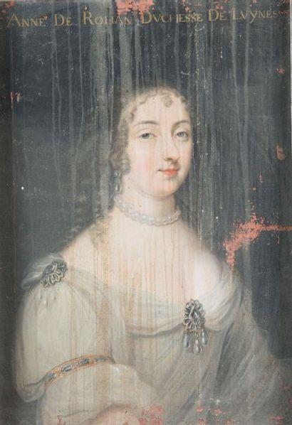 Ecole FRANCAISE vers 1800 Anne de Rohan Sur...