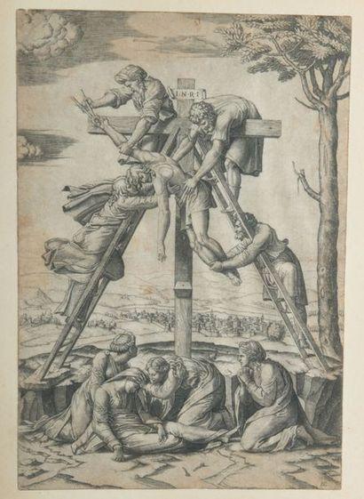 D'après Marcantonio Raimondi (1480-1534)...