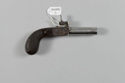Petit pistolet coup de poing à percussion,...