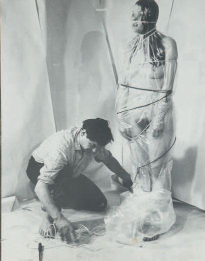 Otto MEUHL. Performance, c. 1970 Trois (3)...