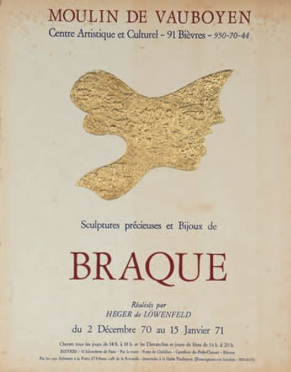 Georges BRAQUE (1882 - 1963) d'après<br/>Français