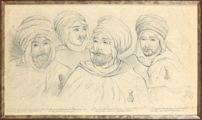 Campagne d'Algérie sous Louis-Philippe: dessin...