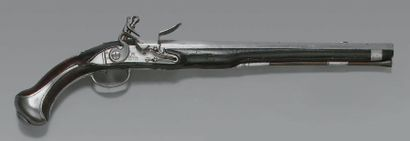 Très rare pistolet de garde du corps du Roi...