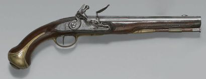 Rare pistolet de gendarme de la garde de...