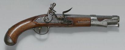 Pistolet de cavalerie à silex modèle 1763/66,...