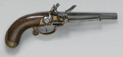 Pistolet de cavalerie modèle 1777, canon...