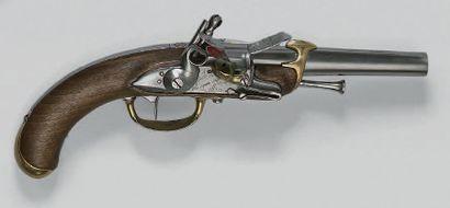 Pistolet à silex de marine modèle 1779, deuxième...