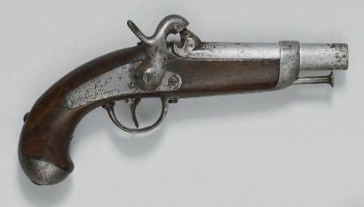 Pistolet de gendarmerie à percussion modèle...
