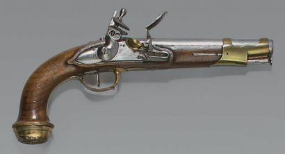 Pistolet à silex de garde du corps du Roi...