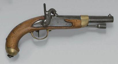 Pistolet de cavalerie à percussion modèle...