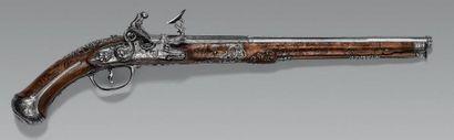 Beau pistolet brescian à chenapan, canon...