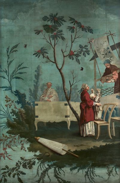Ecole FRANCAISE de la fin du XVIIIème siècle, suiveur de Jean Baptiste PILLEMENT