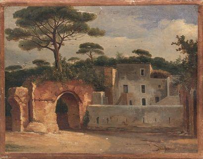 Alexandre DEBELLE (Voreppe 1805 - Grenoble 1897)