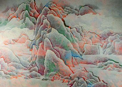 QIU Deshu (Né en 1948) Chinois