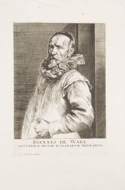 Antoine Van DYCK (1599-1641). Jean de Waël. Eau-forte. Très belle épreuve de l'état...