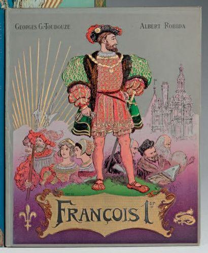 [ALBUM HISTORIQUE - ROBIDA]. TOUDOUZE (Gustave)....