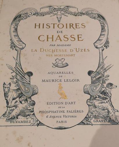 Histoire de chasse par Madame la Duchesse...