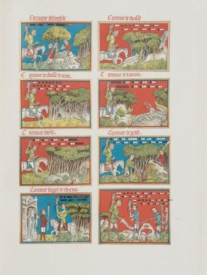 Les tapisseries des chasses de Maximilien...