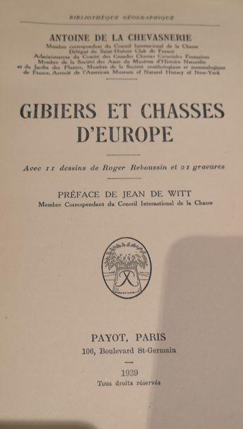 Antoine de la CHEVASNERIE