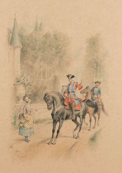 Henri de STA (Versailles 1846 - 1920)
