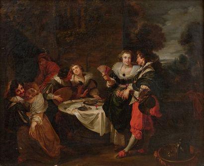 Ecole ALLEMANDE du XVIIème siècle, entourage de Johann LISS