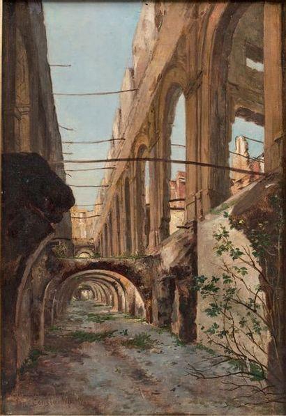 Auguste Aristide Fernand CONSTANTIN (Paris 1824 - 1895)