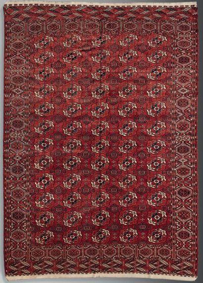 Tapis de Boukhara Asie centrale, XXème siècle...