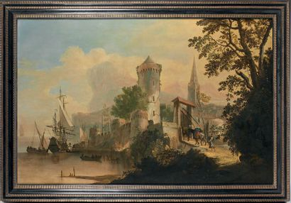 Attribué à Adriaen van DIEST (1655 - 1704)