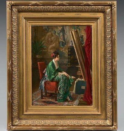 Gustav Leonhard DE JONGHE (Courtrai 1829 - Anvers 1893)