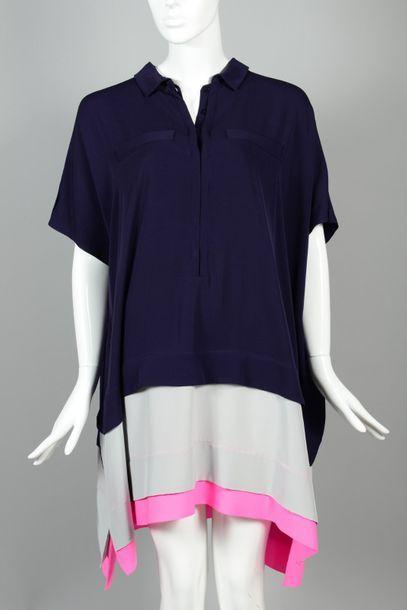 Diane von FURSTENBERG  Robe en crêpe de soie...