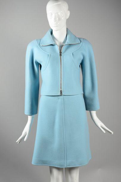 COURREGES Paris couture circa 1999  Tailleur...