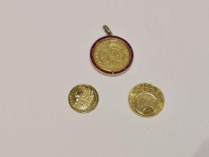 Une pièce de 100 JAHRE, 1963 en or (poids...