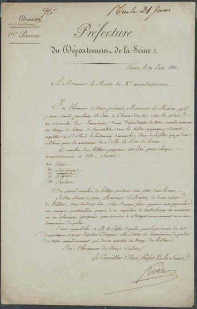 Nicolas FROCHOT (1761-1828) Préfet de la Seine
